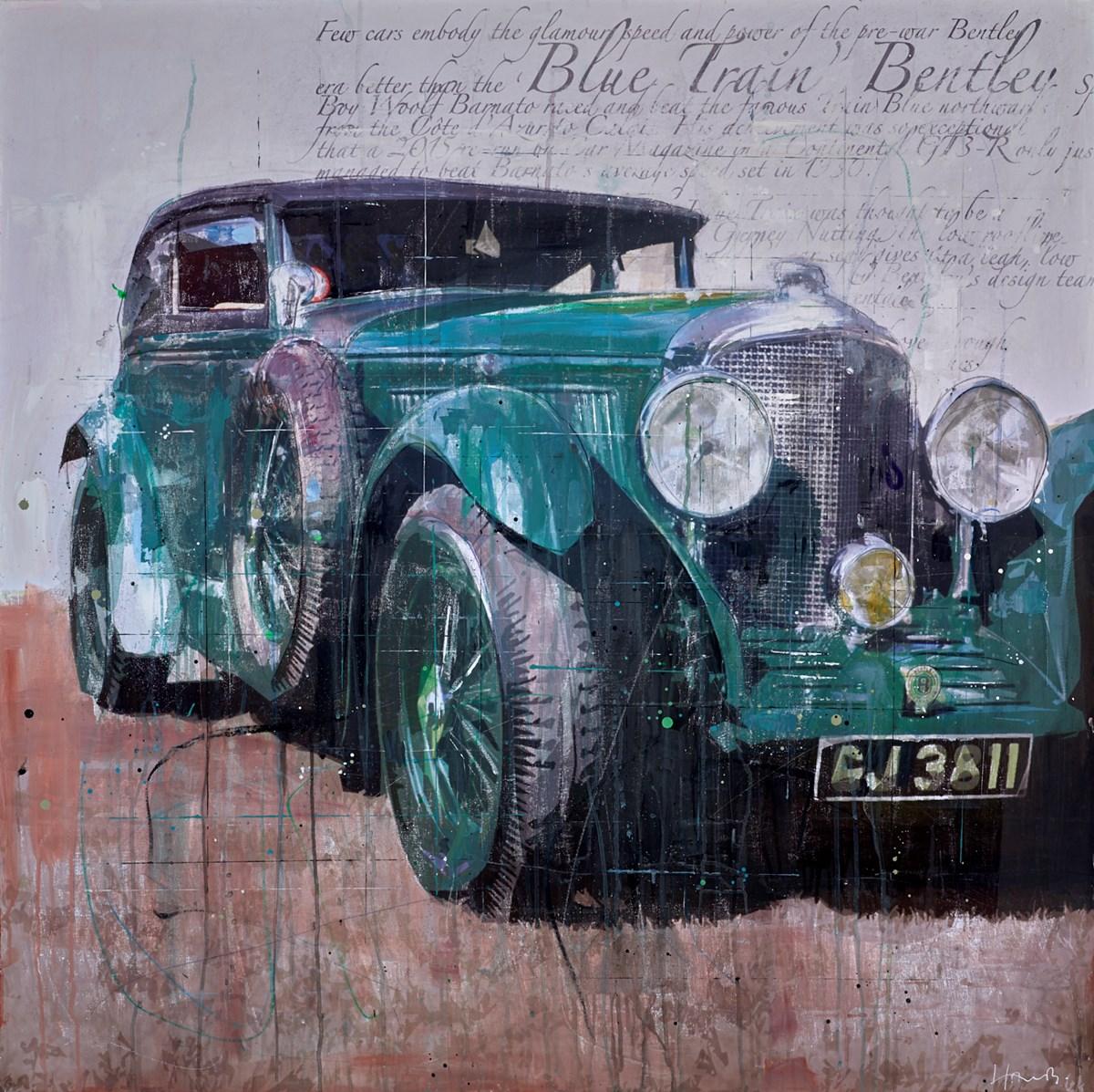 Blue Train Bentley
